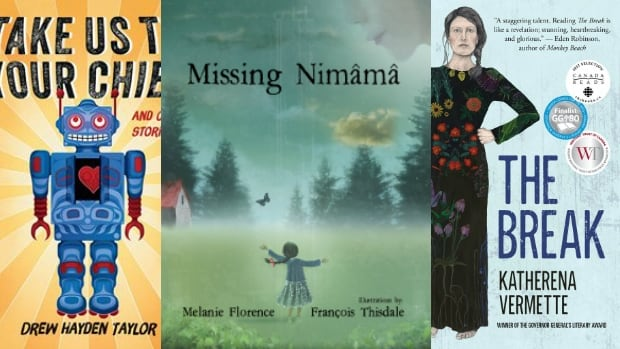 Take Us To Your Chief by Drew Hayden Taylor, Missing Nimama by Melanie Florence & François Thisdale and The Break by Katherena Vermette are among our top 5 reads for the holidays.