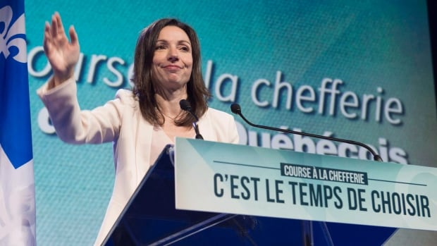 Martine Ouellet ran unsuccessfully for the Parti Québécois leadership twice in 2015 and 2016.