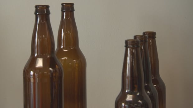 Craft brewers currently use their bottles only once before the bottles enter the recycling stream and are washed and re-used by big breweries or ground up for glass.