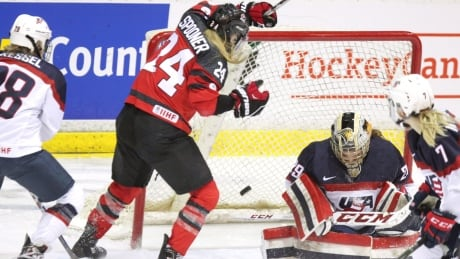 Poulin Lifts Canada's Women To OT Win Over U.S. In Exhibition
