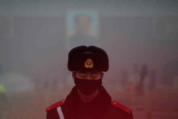 CHINA-POLLUTION Beijing