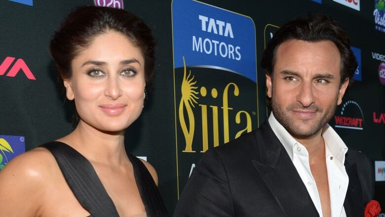 750c27525bfb5 Bollywood super couple Kareena Kapoor and Saif Ali Khan, seen in Tampa,  Fla., in 2014, have welcomed their first child together.