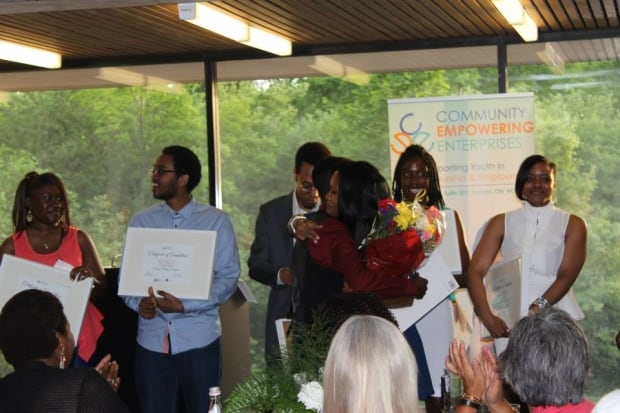 Toronto Shereen Ashman graduation ceremony