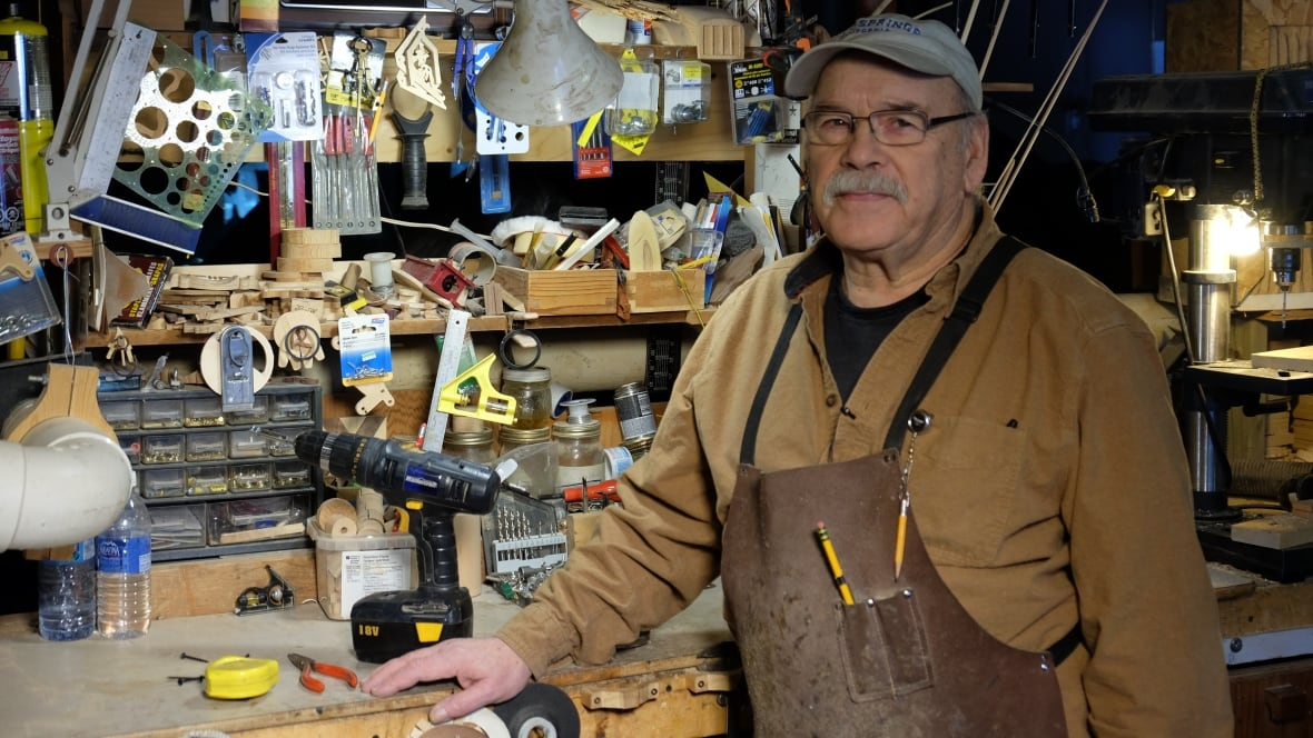 Toys For Retirees : Kid at heart yukon man spends retirement building toys