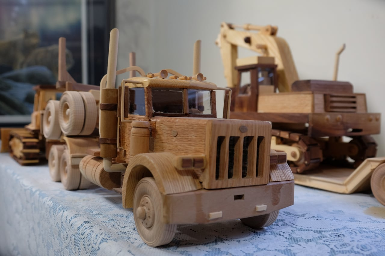 kid at heart: yukon man spends retirement building toys for