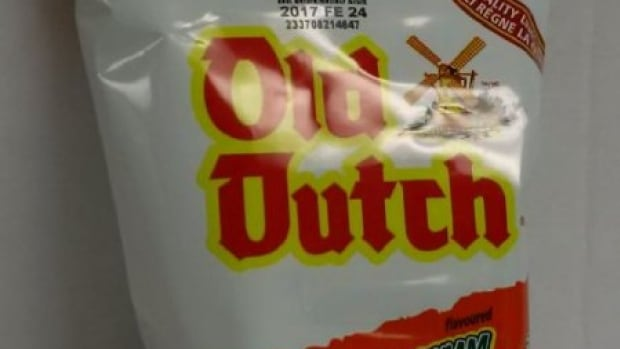 Old Dutch chips recalled due to possible Salmonella