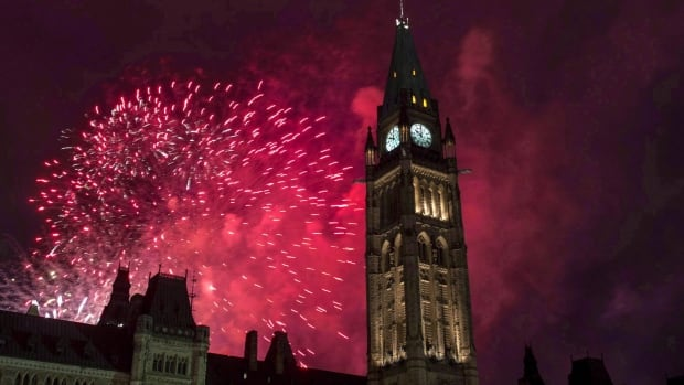 Fireworks explode behind the Peace Tower on Parliament Hill during Canada Day celebrations in Ottawa on July 1, 2015. Canada already has a lot to offer travellers, but as the country celebrates its 150th birthday in 2017 with a year full of sesquicentennial celebrations, there's even more to see and do.