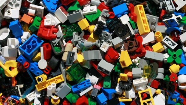 Lego building blocks are a low-tech favourite.