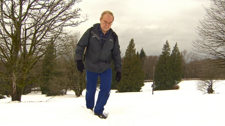 Snow won't stop this 66-year-old from hiking up Burnaby