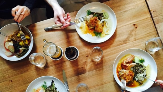 Family-style meals, happy hours and veggie-forward restaurants are just some of the upcoming dining out trends in 2017.