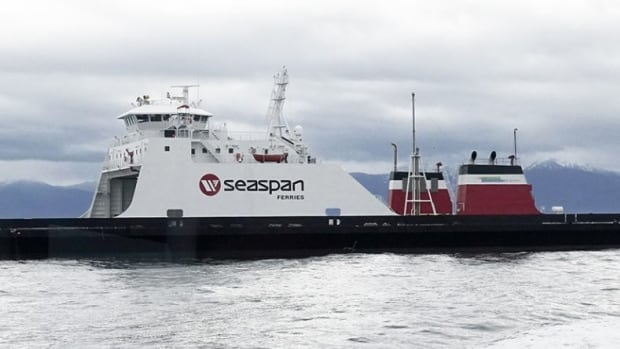 Seaspan Ferries hybrid, LNG- battery-powered ferry, the Seaspan Swift, will move cargo between the B.C. mainland and Vancouver Island.