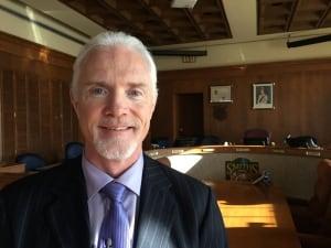 Smiths falls mayor Shawn Pankow