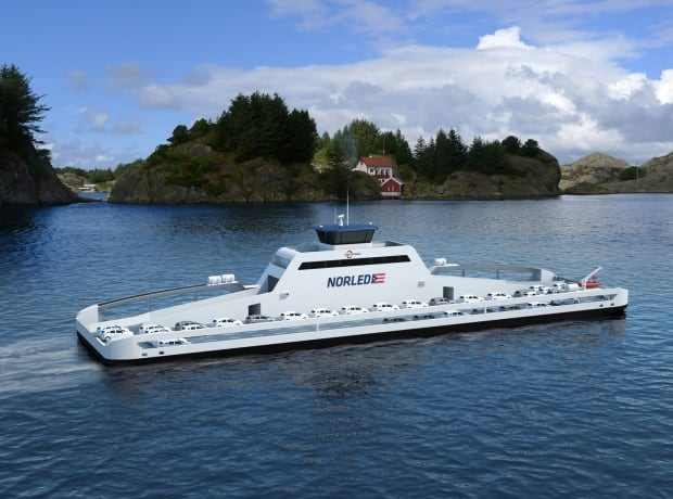 MF Ampere, world's first all-electric car ferry
