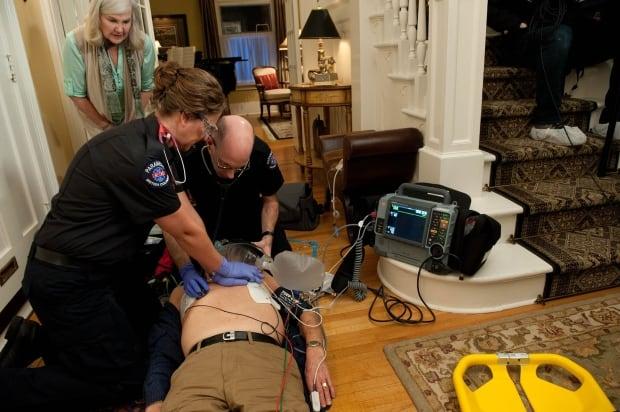 Paramedics in B.C.