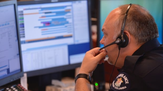 The Ambulance Paramedics and Emergency Dispatchers of B.C. say some people are being put on hold when they call 911 because of high call volume.