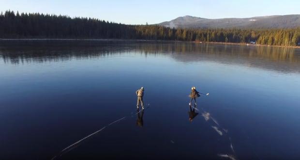 whonnock lake drone