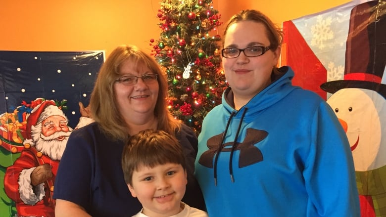 cozy corner owner michelle clarke seen here with daughter ashley and grandson linkin says she has wanted to open her doors to others on christmas day for
