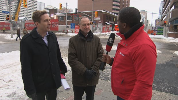 Adrian speaks to Chris Swail (left) and Steve Cripps about progress made in 2016 on LRT construction and what's ahead for 2017 and beyond.