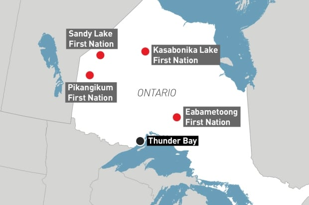 Ontario food distribution project