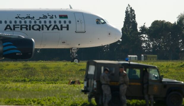 LIBYA-AIRPLANE/