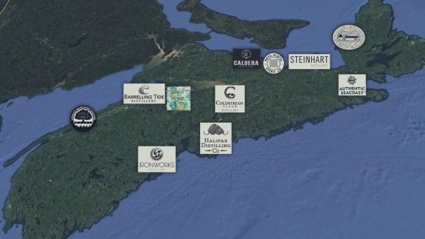 nova scotia craft distilleries