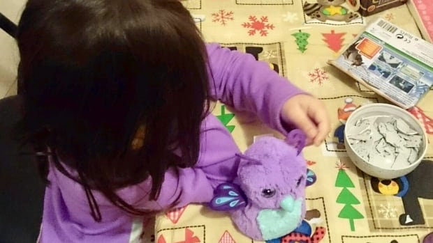 Jessica Perkins said her five-year-old daughter was 'just devastated' when her Hatchimal wouldn't hatch.