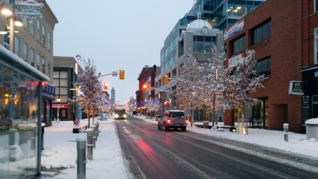 Kitchener will get connected through streetlights this year. The city is replacing high-pressure sodium lights with LEDs and installing a narrowband network at the same time.