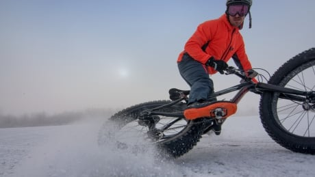 Wayne Bishop, fat bike enthusiast in Manitoba