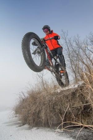 Wayne Bishop, Manitoba fat bike trail enthusiast