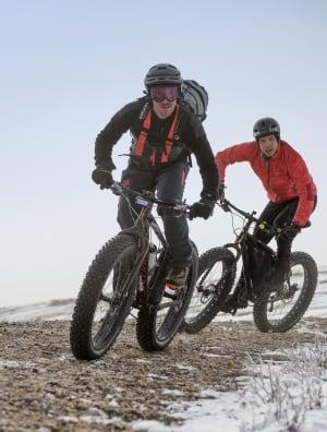 Wayne Bishop, Manitoba fat bike enthusiast