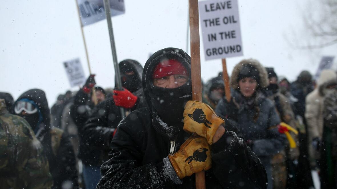 3 arrested near Standing Rock pipeline site