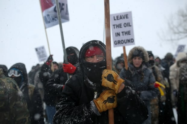 Standing Rock winter