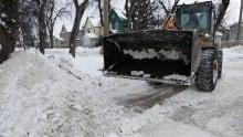 Snow clearing Winnipeg