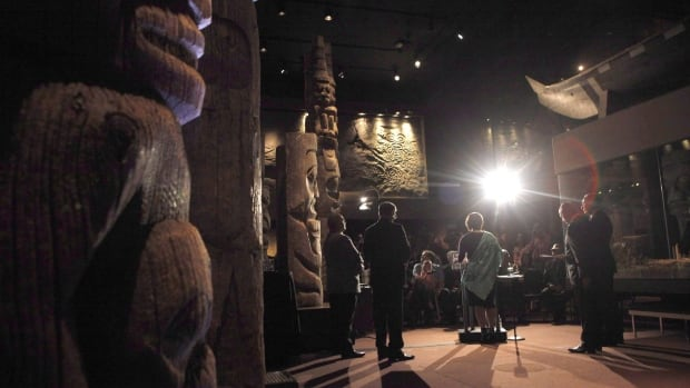 B.C. Premier Christy Clark makes an announcement regarding ancestral remains and belongings of cultural significance during a ceremony at the Royal B.C. Museum in Victoria, B.C., on June 21, 2016.