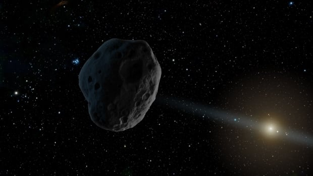 Astronomers have spotted what they believe is an interstellar interloper in our solar system, the first ever observed.