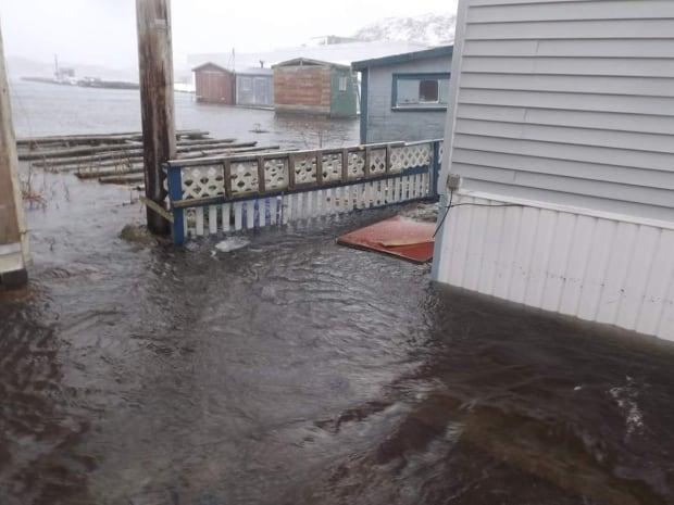 Ramea flooding storm surge