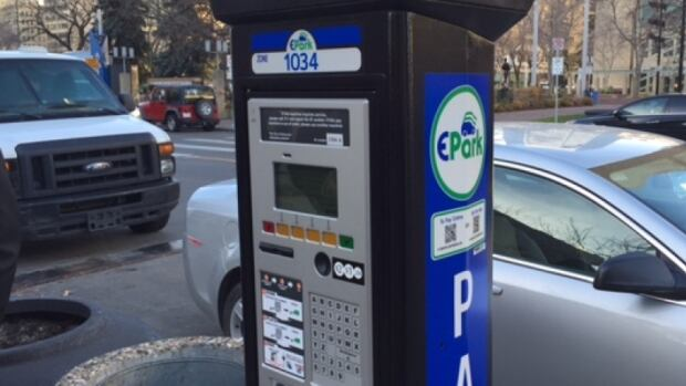 All parking meters in the city of Edmonton were replaced by EPark machines in 2015.