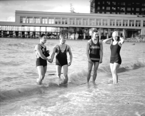 Vancouver Polar Bear Swim New Year's Day 1930