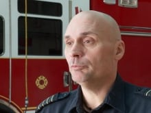 Firefighter Damian Asher has fought fires for 16 years but never like the 2016 May wildfire in Fort McMurray.