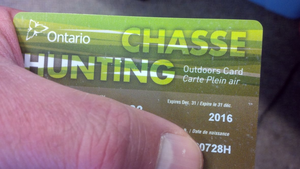 Check your outdoors card before you go fishing new years for Ontario non resident fishing license