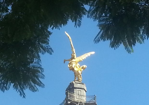 Golden Angel of Independence, Mexico city