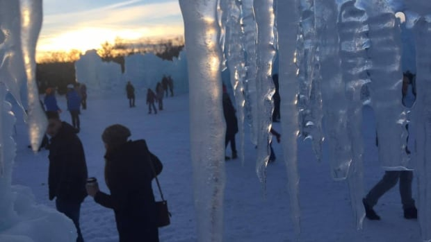 The ice castle in Hawrelak Park has been a popular winter attraction in Edmonton over the past two years.