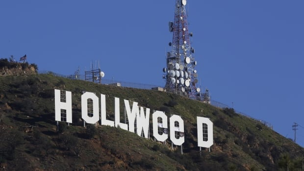 Los Angeles residents awoke New Year's Day to find a prankster had altered the famed Hollywood sign to read 'Hollyweed.' California voters in November approved Proposition 64, which legalized the recreational use of marijuana.