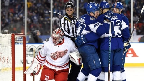 Centennial Classic Lives Up To Billing As Leafs Down Red Wings In OT
