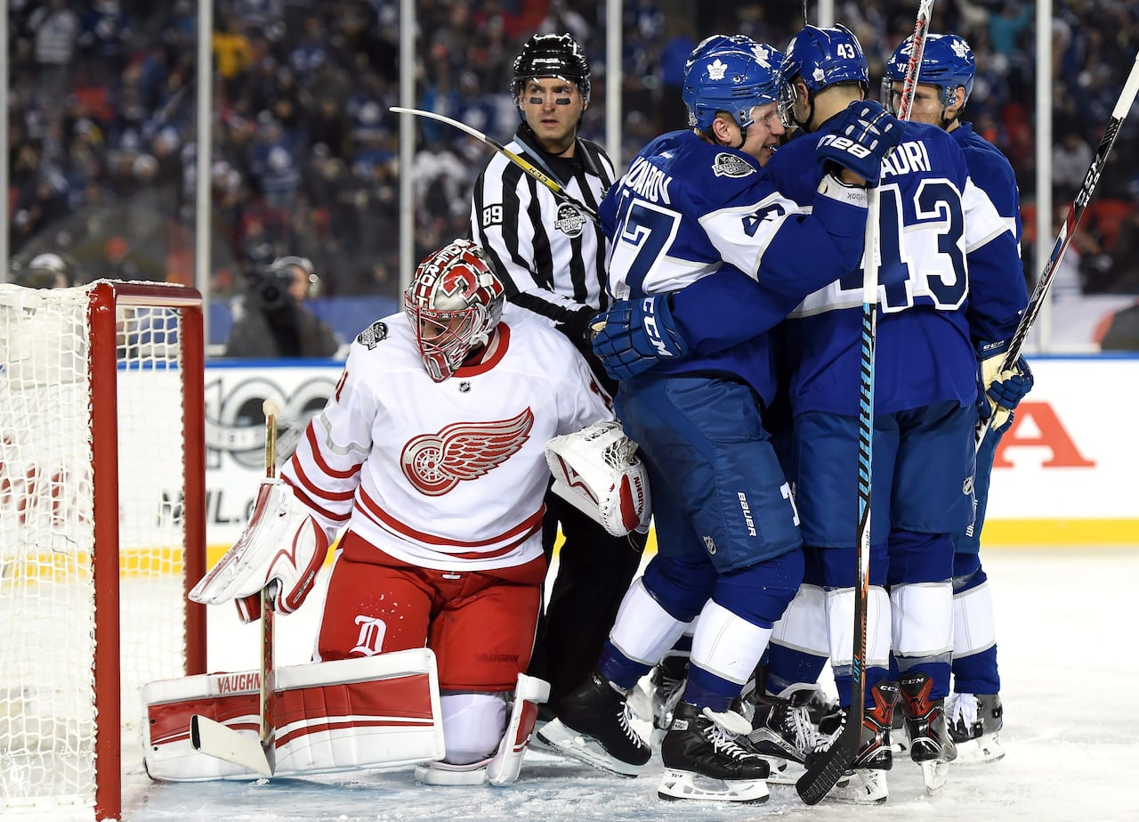 5f50149da Centennial Classic lives up to billing as Leafs down Red Wings in OT | CBC  Sports