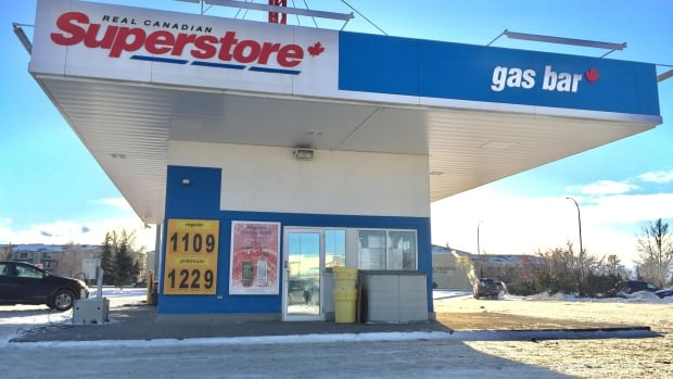 Prices at some Edmonton gas stations rose well past $1 per litre on New Year's Day, as Alberta's carbon levy took hold.