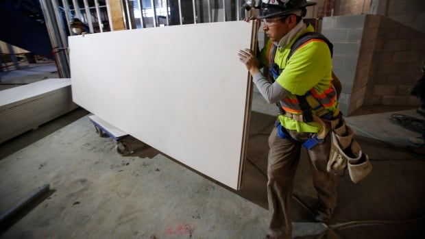 Canadian construction firms have complained the tariffs on U.S. drywall make it more expensive to build homes out of the material.