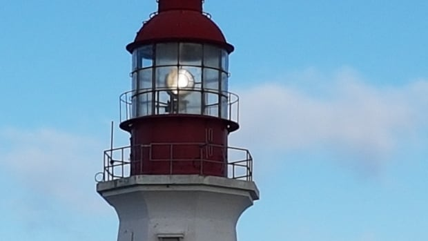 Low Point Lighthouse is located along Sydney harbour near New Waterford. The 22-metre-high structure has been in operation since 1832.