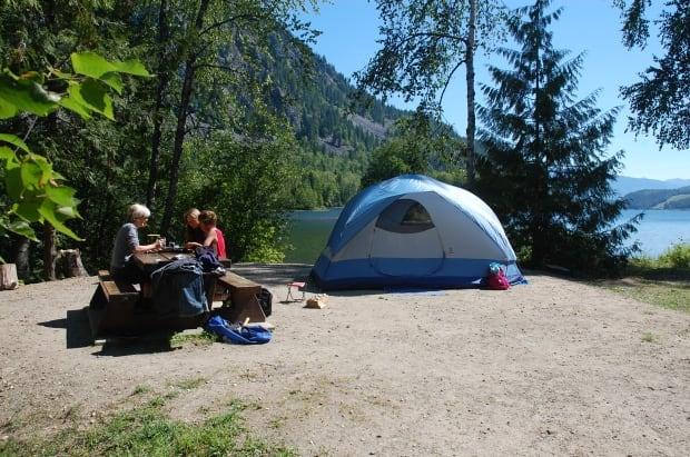 b.c. camping