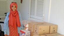 Zein Ahmed Djibouti Yemeni refugees Christmas break aid delivery